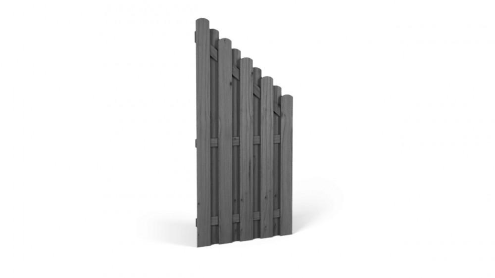 Sichtschutzzaun HOLENDER 180x90x4,8cm grau
