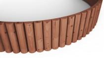 Rollboarder 200x30cm braun