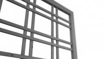 Holzgitter 180x180 mit Rahmen 35