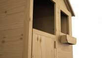 Kinderhaus MAGIC mit Veranda 2,24m² 248x171cm