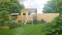 Kinderhaus DELUXE 5,03m² 282x225cm