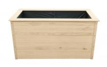 Hochbeete aus Holz 150x78x75cm