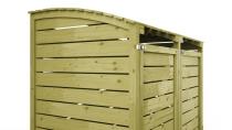 Mülltonnenbox 156x122x94cm