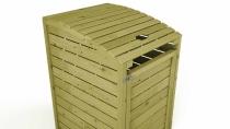Mülltonnenbox 78x122x90cm