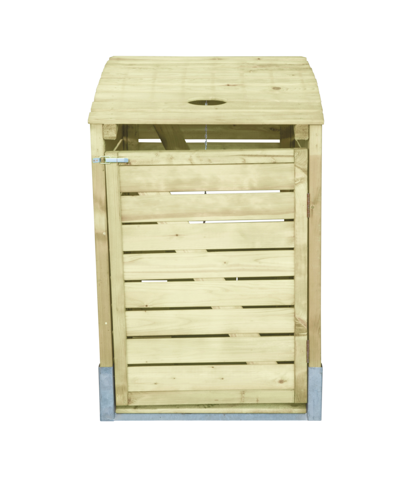 m lltonnenbox holz 78x122x90 m llbox m llcontainer. Black Bedroom Furniture Sets. Home Design Ideas