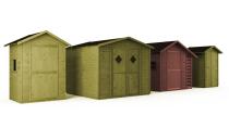 Gartenhaus mit Boden MAXI 5m² 264x262cm