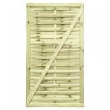 Gartentor aus Holz 180x100x3,5