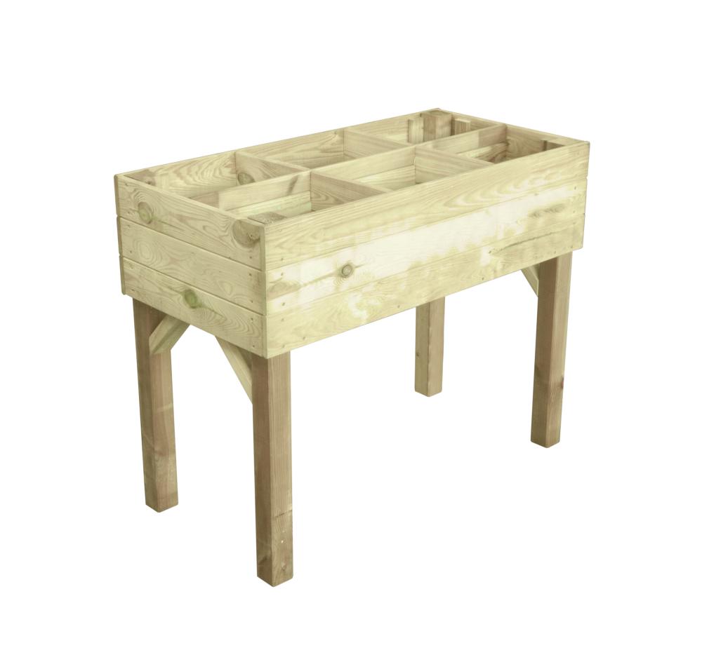 hochbeete aus holz 100x80x50cm wooder. Black Bedroom Furniture Sets. Home Design Ideas