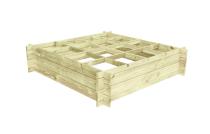 Hochbeete aus Holz 120X120x27
