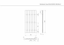 Sichtschutzzaun HOLENDER 180x90x4,3cm
