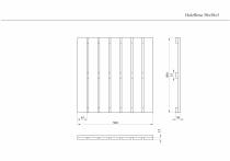 Holzfliese 50x50x3cm