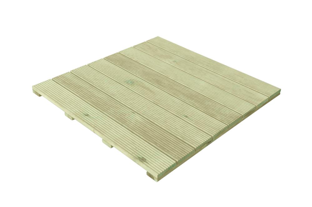 Holzfliesen 100x100x2,8cm