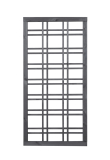Holzgitter 180x90cm mit Rahmen 35