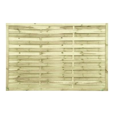 Lamellenzaun Holz 120x180x2 cm