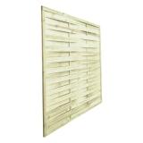 Lamellenzaun Holz 150x180x2 cm