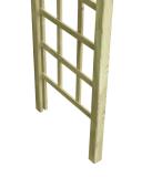 Pergola halbrund 100x225x46cm