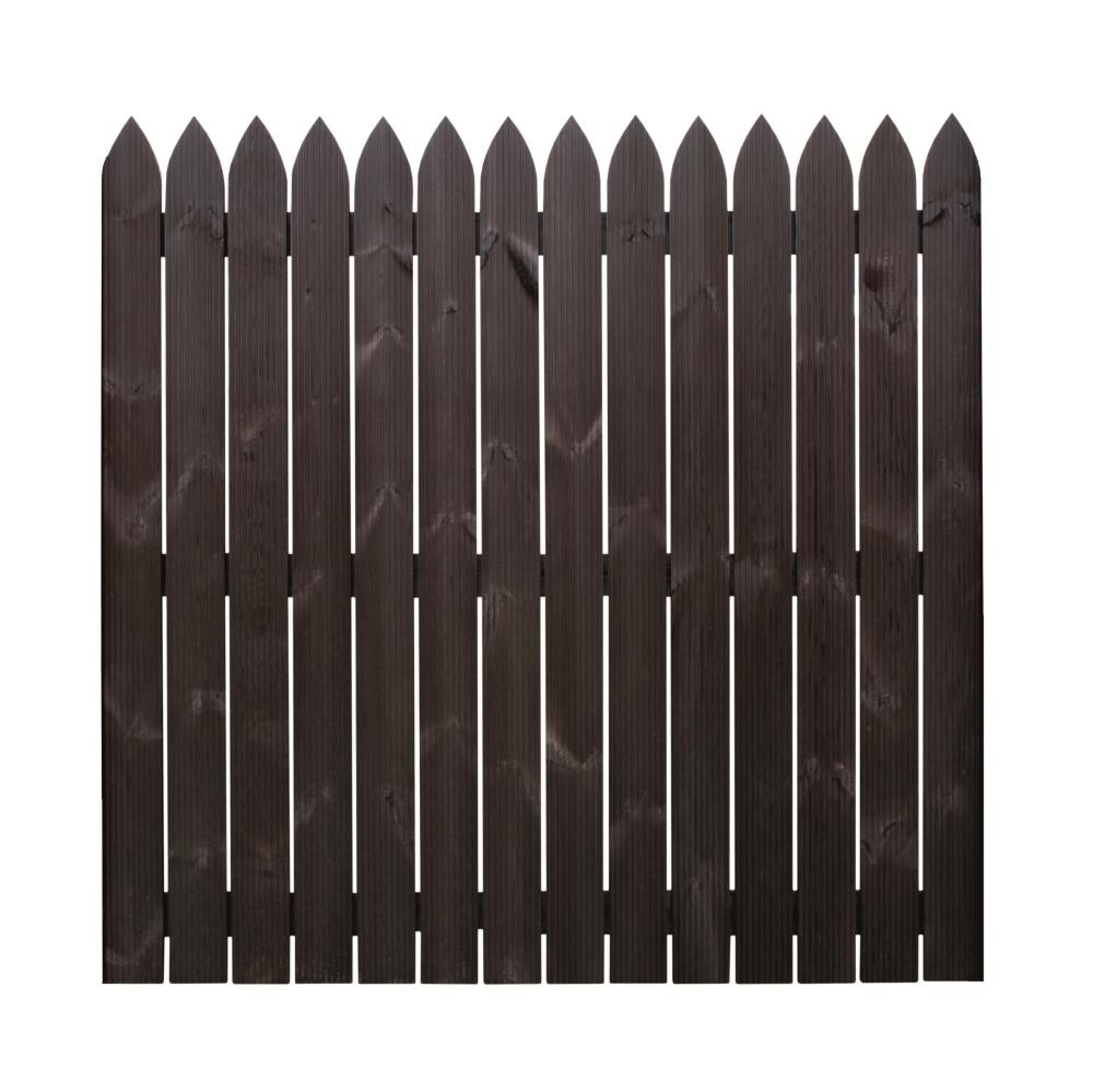 Holzbretter Zaun HOLENDER Holzöl 180x180x3,4