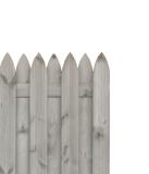 Sichtschutzzaun HOLENDER 180x180x5cm grau