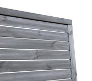 Sichtschutzzaun 180x180x3,5cm
