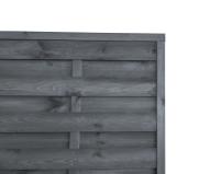 Sichtschutzzaun 180x90x3x3cm grau
