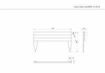 Vorgartenzaun WAMPIR 55x30x14cm