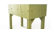 Hochbeete aus Holz 100x80x50cm